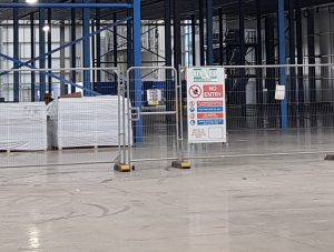 CDM safety fencing