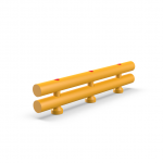 Impact Safety Barrier (Double) Ø120/120 H340 R