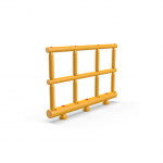 Impact Safety Barrier D120/70/70 H1000 R