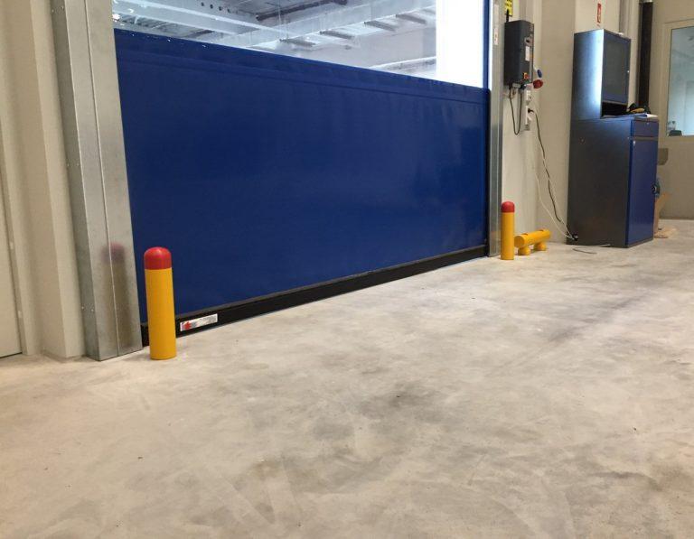 Stommpy bollard safety barrier