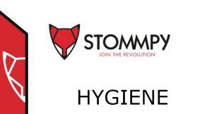 Stommpy hygiene logo