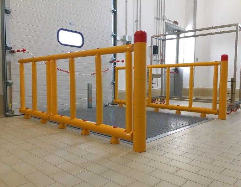 Stommpy platform railing