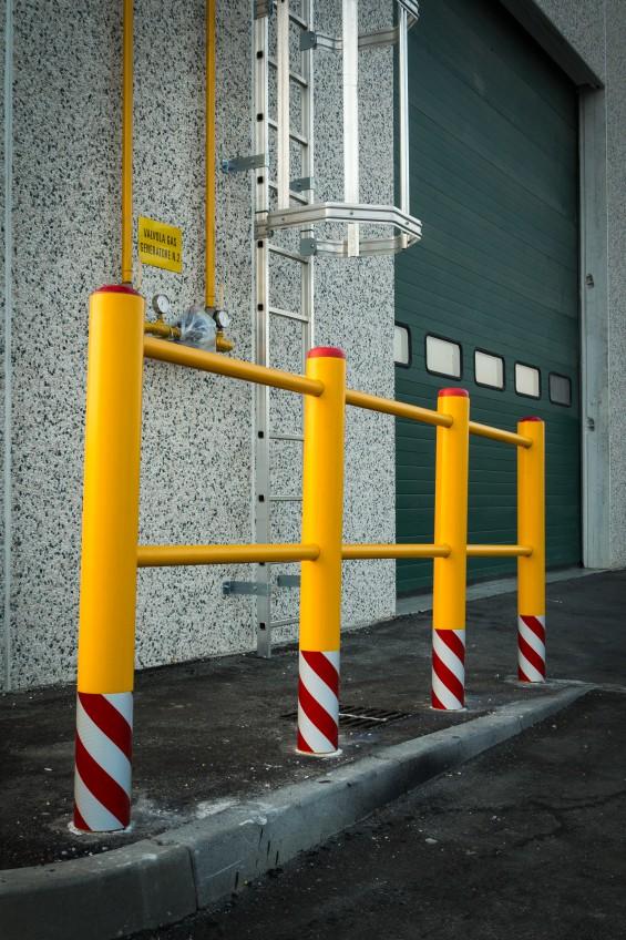Stommpy hazard railing