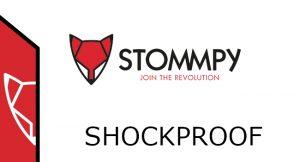 Shockproof stommpy logo