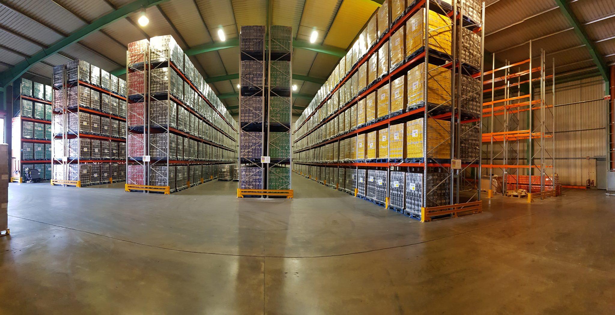From Bulk Stack Storage to Pallet Racking Storage?