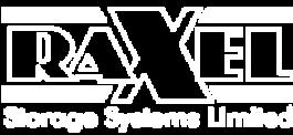 Raxel logo white